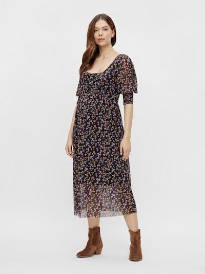 MAMALICIOUS Kleid 'Clementine' in mischfarben / schwarz, Modelansicht