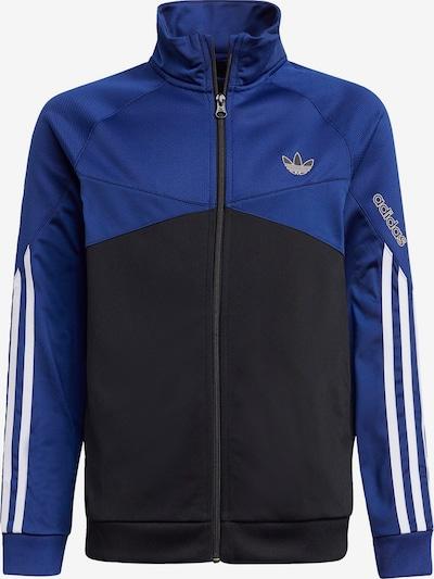 ADIDAS ORIGINALS Between-season jacket in Blue / Black / White, Item view