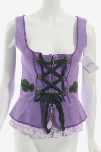 ALMSACH Vest in M in Dark green / Lilac / Light purple, Item view