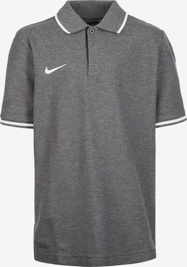 NIKE Poloshirt 'Club19' in dunkelgrau / weiß, Produktansicht