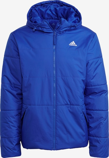 ADIDAS PERFORMANCE ' BSC Insulated Hooded Jacke ' in blau, Produktansicht