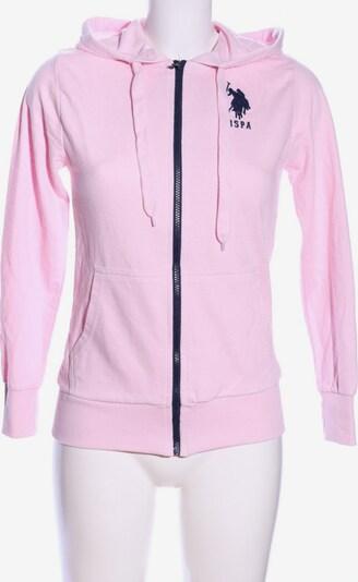 U.S. POLO ASSN. Sweatjacke in XS in pink, Produktansicht