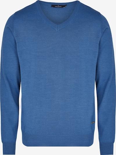 DANIEL HECHTER Klassischer Strickpullover in blau, Produktansicht
