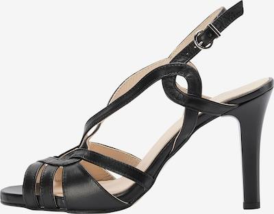 DreiMaster Klassik Sandaal in de kleur Zwart, Productweergave