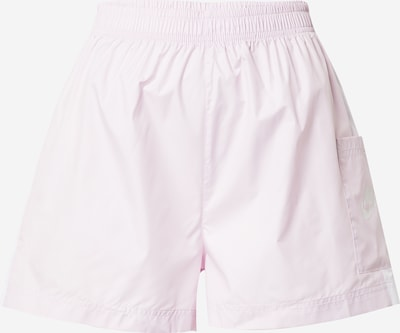 Nike Sportswear Bukser i lyserød / hvid, Produktvisning
