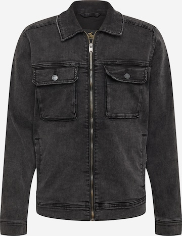 HOLLISTER Prechodná bunda - Čierna