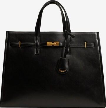 MANGO Дамска чанта 'Daphne' в черно