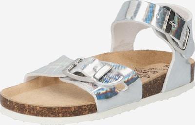 PRIMIGI Sandales en gris argenté, Vue avec produit