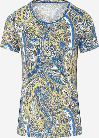 Peter Hahn Shirt in beige / blau / gelb / mischfarben, Produktansicht
