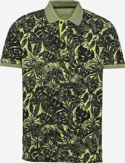 CAMEL ACTIVE Shirt in grün / schwarz, Produktansicht
