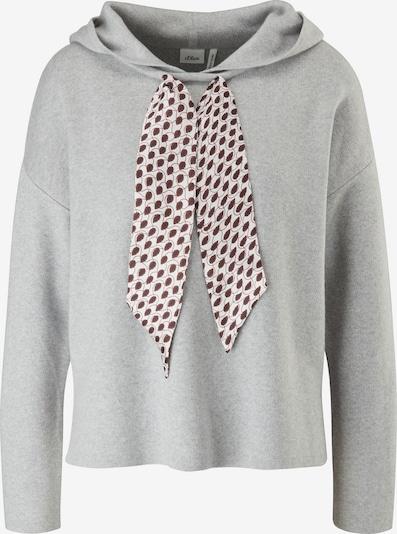 s.Oliver BLACK LABEL Sweater in Grey / Light grey, Item view