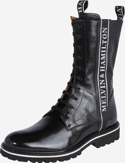 MELVIN & HAMILTON Schnürstiefel 'Trevor 27' in schwarz / weiß, Produktansicht