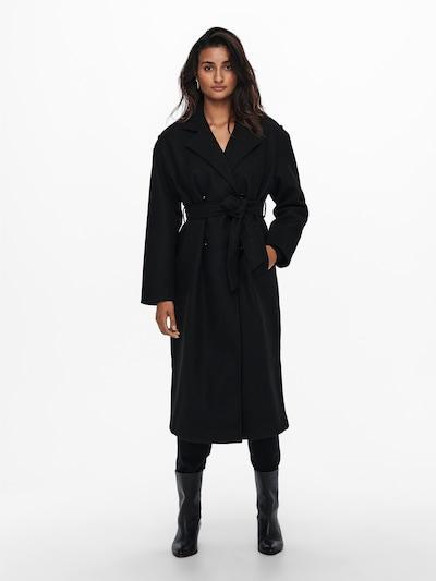 ONLY Ανοιξιάτικο και φθινοπωρινό παλτό 'Emma' σε μαύρο, Άποψη μοντέλου