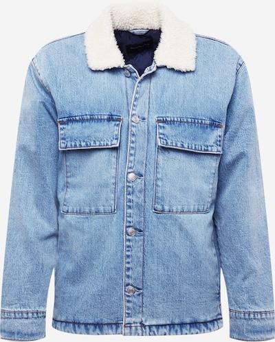 Abercrombie & Fitch Jacke in blue denim / weiß, Produktansicht