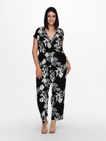 ONLY Carmakoma Jumpsuit 'Luxina' in Zwart