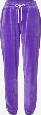 VIERVIER Bukse 'Rieke' i lilla