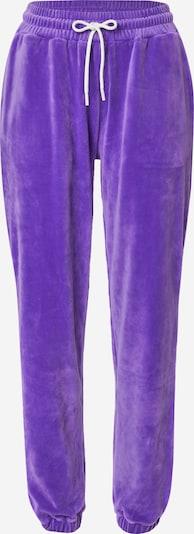 VIERVIER Hose 'Rieke' in lila, Produktansicht
