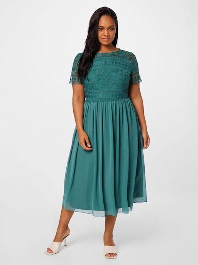 SWING Kleid in grün, Modelansicht