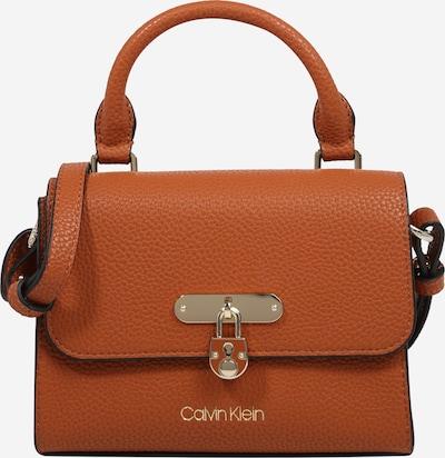 Calvin Klein Torba za čez ramo 'FLAP TOP HANDLE XS' | konjak barva, Prikaz izdelka