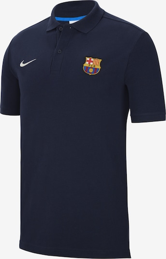 NIKE Poloshirt in blau / dunkelblau, Produktansicht