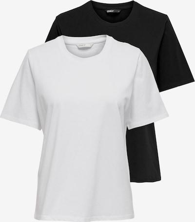 ONLY Tričko - čierna / biela, Produkt
