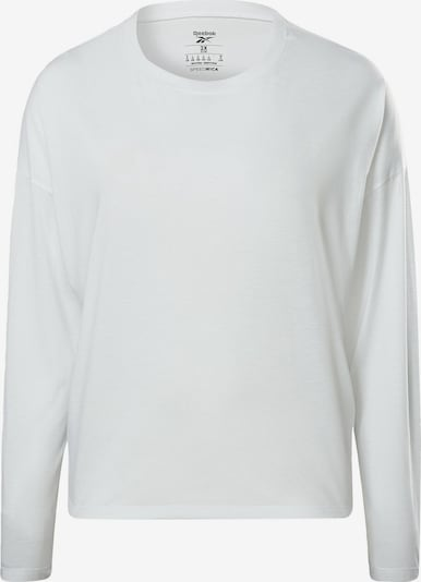 REEBOK Shirt in offwhite, Produktansicht