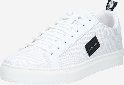 ANTONY MORATO Sneakers low 'DUGGER METAL' in black / white, Item view