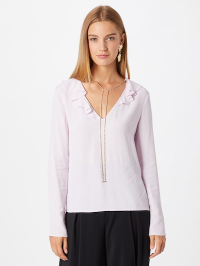 PATRIZIA PEPE Blusa en rosa pastel, Vista del modelo