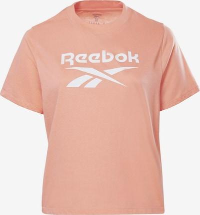 Reebok Sport Shirt in melone / weiß, Produktansicht