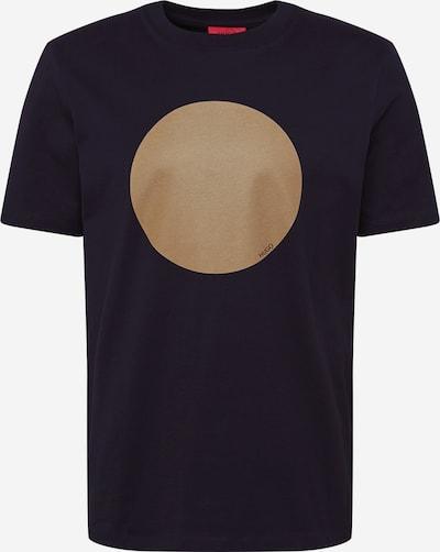 HUGO Majica 'Doriole' | temno modra / bronasta barva, Prikaz izdelka