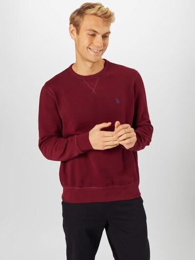 POLO RALPH LAUREN Sweatshirt in de kleur Wijnrood: Vooraanzicht