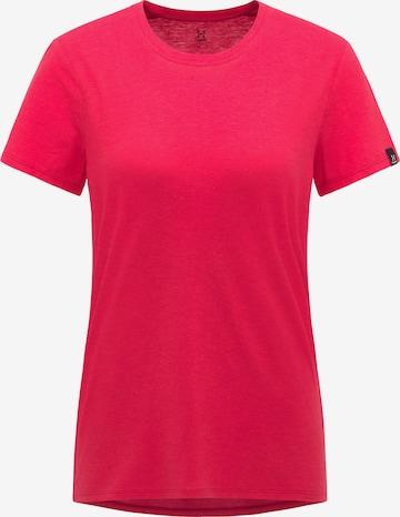 Haglöfs Functioneel shirt in Rood
