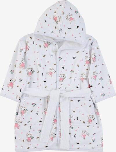 STERNTALER Bademantel 'Mabel' in pink / weiß, Produktansicht
