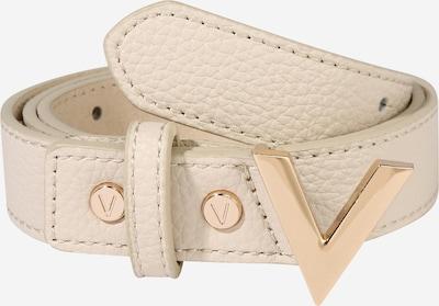 Valentino Bags Ceinture 'FOREVER' en crème / marron, Vue avec produit