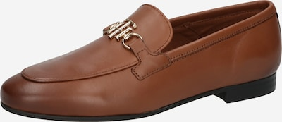 Papuci de casă TOMMY HILFIGER pe maro coniac, Vizualizare produs