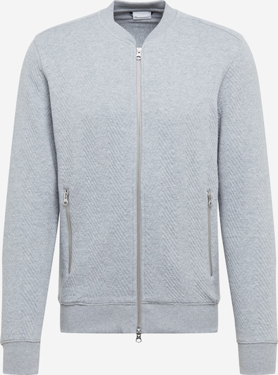 KnowledgeCotton Apparel Sweatjacke in grau, Produktansicht