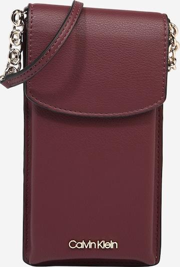 Calvin Klein Smartphonehoesje in de kleur Wijnrood, Productweergave