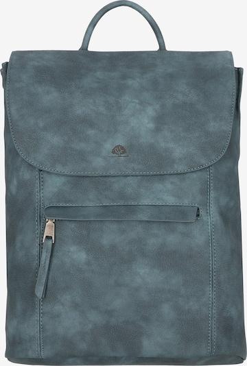 GREENBURRY Rucksack in blau, Produktansicht