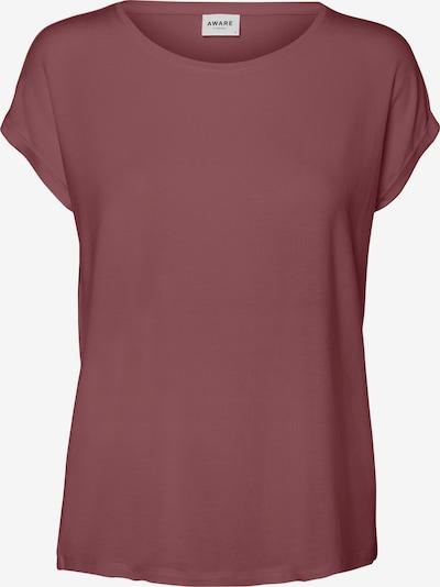 VERO MODA T-Shirt 'VMAVA' in rostrot / rotmeliert, Produktansicht