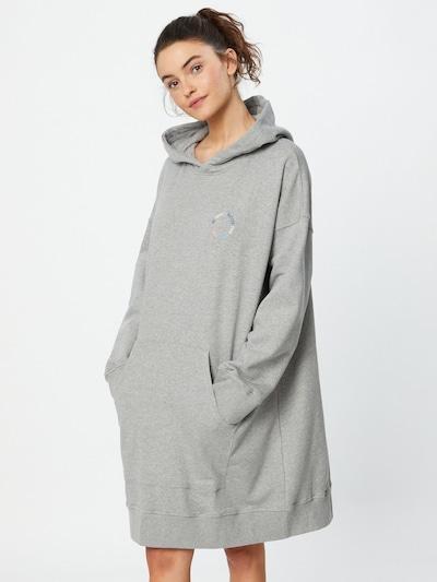 Derbe Kleid in hellblau / hellgelb / graumeliert / hellpink, Modelansicht