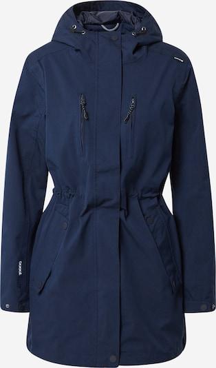 Whistler Outdoormantel in de kleur Navy, Productweergave