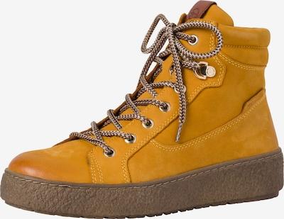 TAMARIS Schnürstiefelette in gelb, Produktansicht