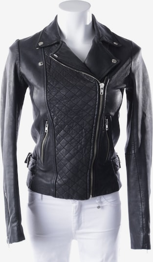 Maje Lederjacke  in XS in schwarz, Produktansicht