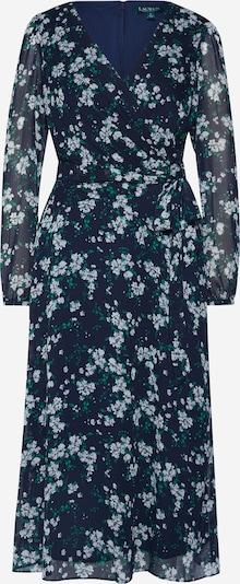 Lauren Ralph Lauren Letní šaty 'FRANNY-LONG SLEEVE-DAY DRESS' - námořnická modř / šedá, Produkt
