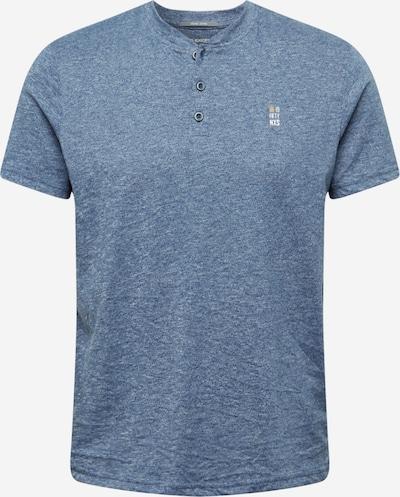Tricou No Excess pe albastru porumbel / galben / alb, Vizualizare produs