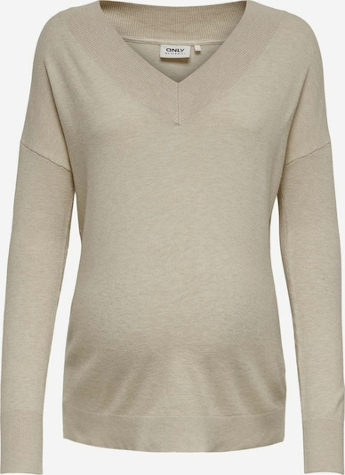 Only Maternity T-shirt en beige clair, Vue avec produit