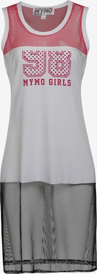 myMo ATHLSR Sporttop in de kleur Pink / Zwart / Wit, Productweergave