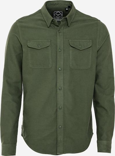 Superdry Skjorta 'TRAILSMAN' i mörkgrön, Produktvy