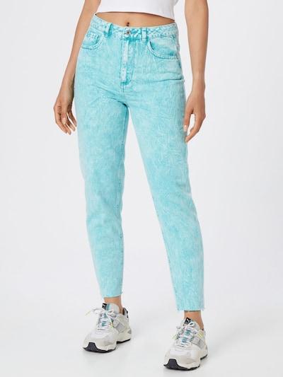 Jeans Pimkie pe verde jad, Vizualizare model