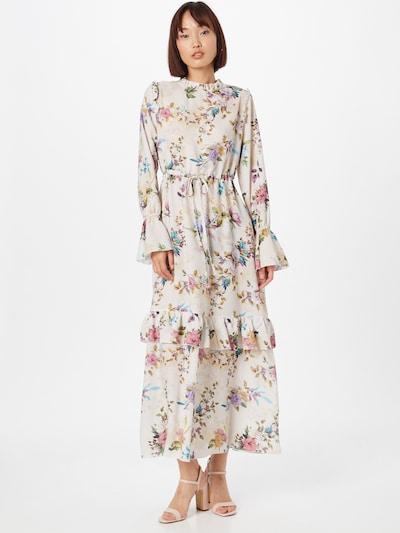 Trendyol Košeľové šaty - béžová / zmiešané farby, Model/-ka